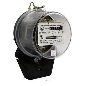 Что предстваляет собой индукционный счетчик электроэнергии?