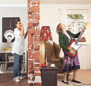 Как жить в доме с шумными соседями?