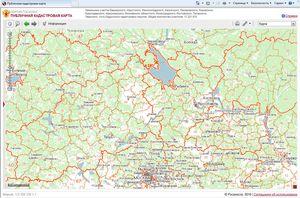 Как получить доступ к публичной кадастровой карте?