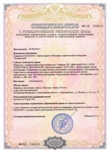 Образец свидетельства о государственной регитстрации права собственности на квартиру