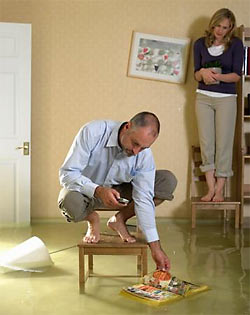 Что делать владельцу квартиры, если вас залили соседи сверху?