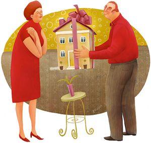 На чье имя можно составить доверенность при дарении недвижимости?