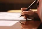 Написание заявления о принятии наследства после смерти