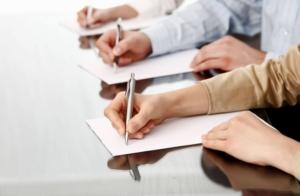 Как составить заявление в управляющую компанию