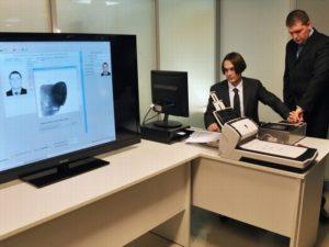 Дактилоскопия при оформлении биометрического загранпаспорта
