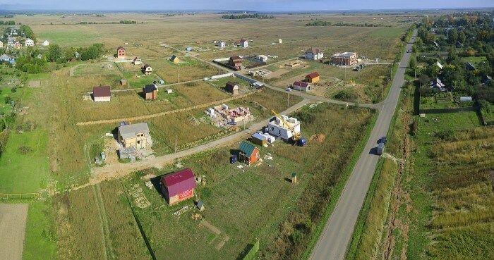 Налоговый вычет при покупке земли с домом и без него