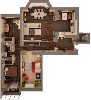 Перепланировка частного дома с разрешением и без
