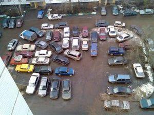 Максимальные и минимальные размеры парковочных мест во дворах МКД