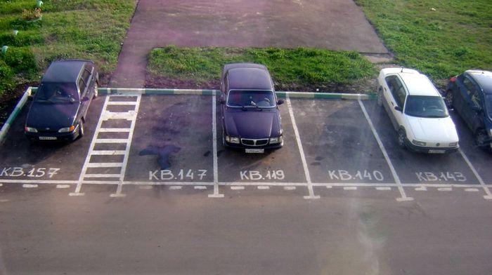 Как организовать парковку для легковых автомобилей во дворе