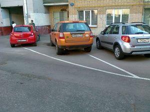 Что нужно учитывать при оборудовании парковочных мест во дворах МКД