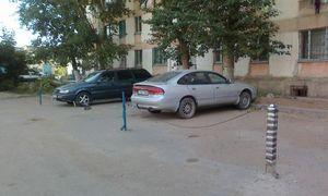 Размеры парковочного места во дворах МКД