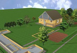 Покупка земельного участка под строительство дома в коттеджном городке, селе, городе
