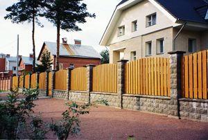 Частный жилой дом преддомовая территория