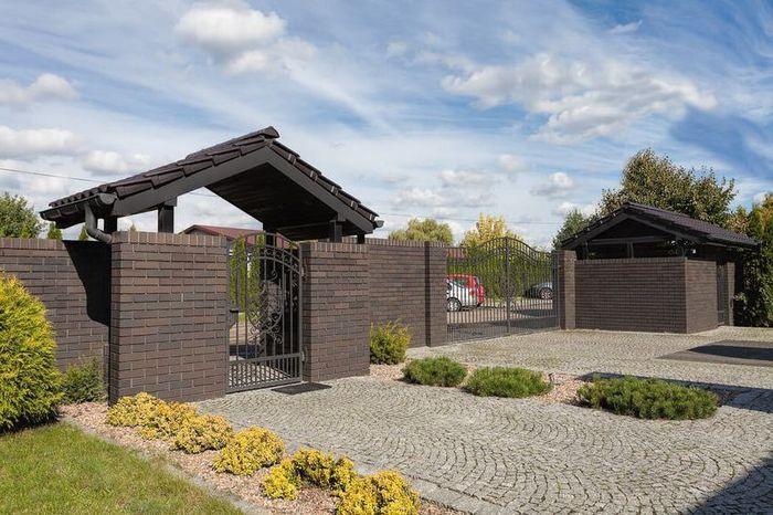 Границы придомовой территории частного дома за забором