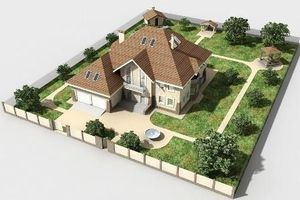 Отступ от границы участка при строительстве дома и хозяйственных построек