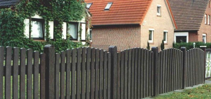 Нарушение правил установки забора между соседями